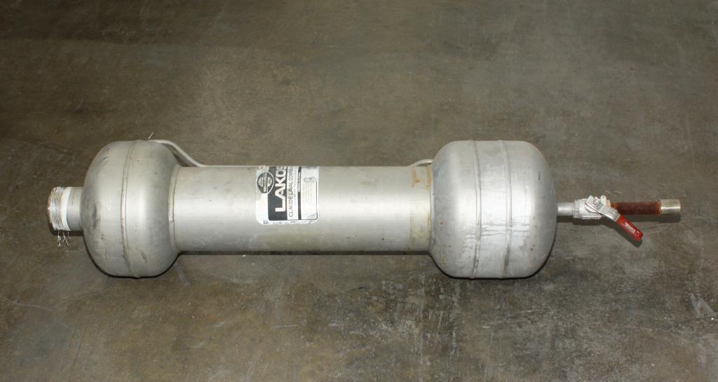Miscellaneous Equipment Lakos Separator model ILS-0300 316SS Maximum Pressure: 150 psi (10.3 bar), 3 inlet, Stainless Steel2