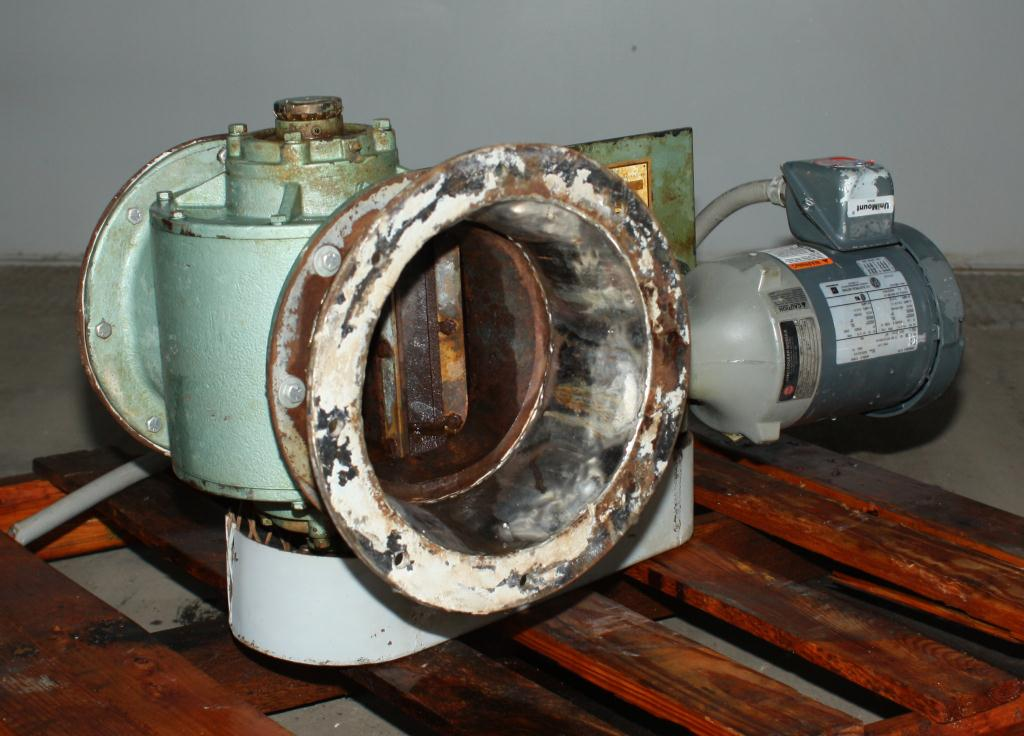 Valve 8 CS Fluidizer rotary airlock feeder model 5X20C510-61