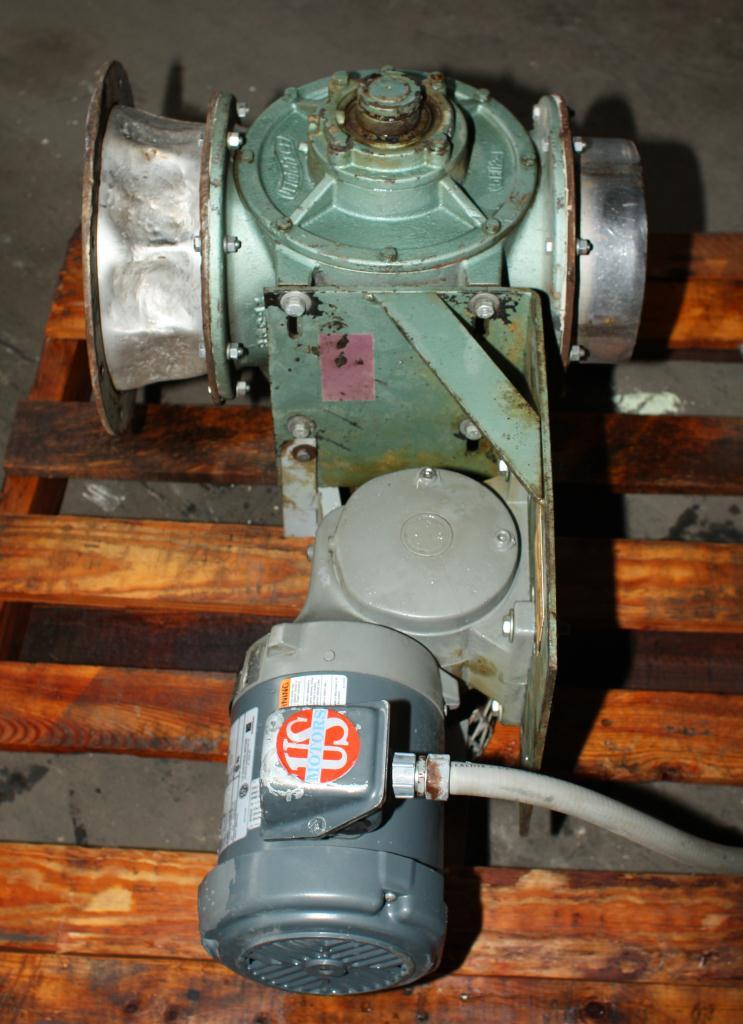 Valve 8 CS Fluidizer rotary airlock feeder model 5X20C510-62