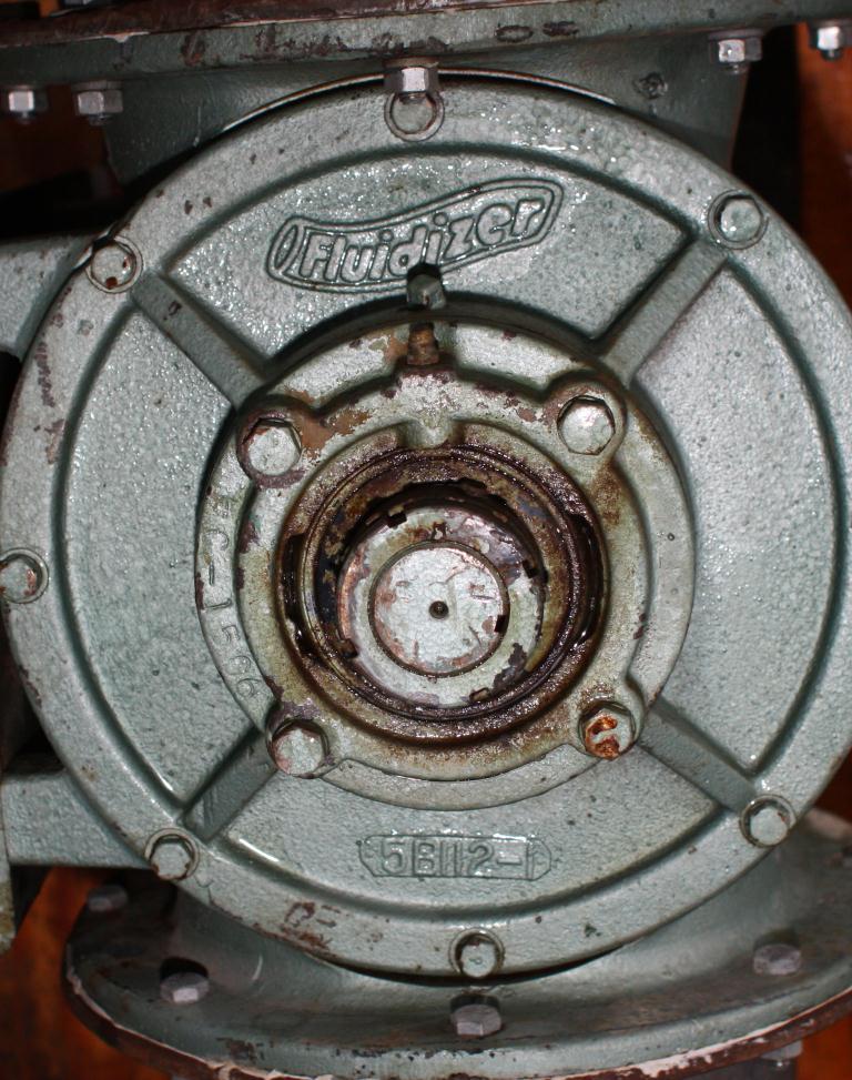 Valve 8 CS Fluidizer rotary airlock feeder model 5X20C510-65