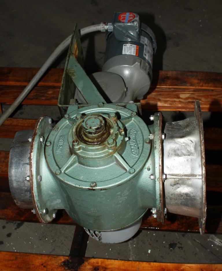 Valve 8 CS Fluidizer rotary airlock feeder model 5X20C510-67