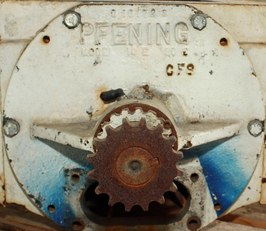 Valve 9 x 12 CS PFENING rotary airlock feeder model 10E 20E4