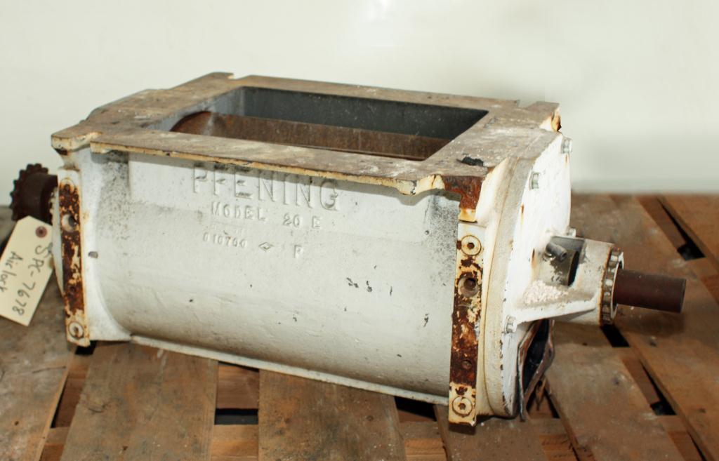 Valve 9 x 12 CS PFENING rotary airlock feeder model 10E 20E1