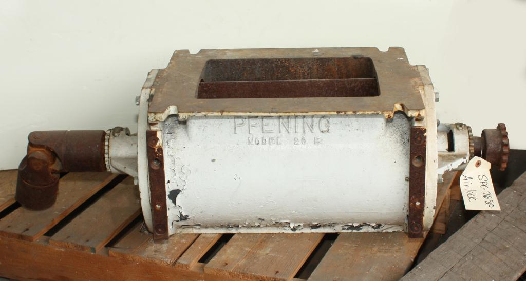 Valve 9X12 CS PFENING rotary airlock feeder model 10E 20E1
