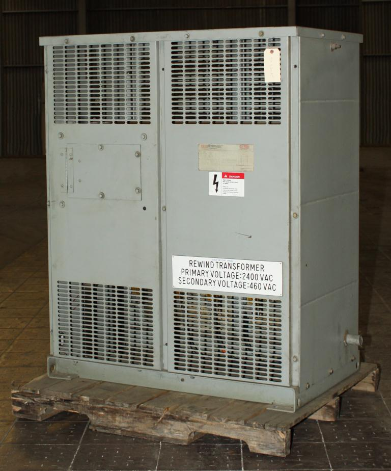 Transformers and Switchgear 93 kva Federal Pacific Transformers Company dry transformer, 2400 high voltage, 460 Y/ 266 low voltage, 3 phase1
