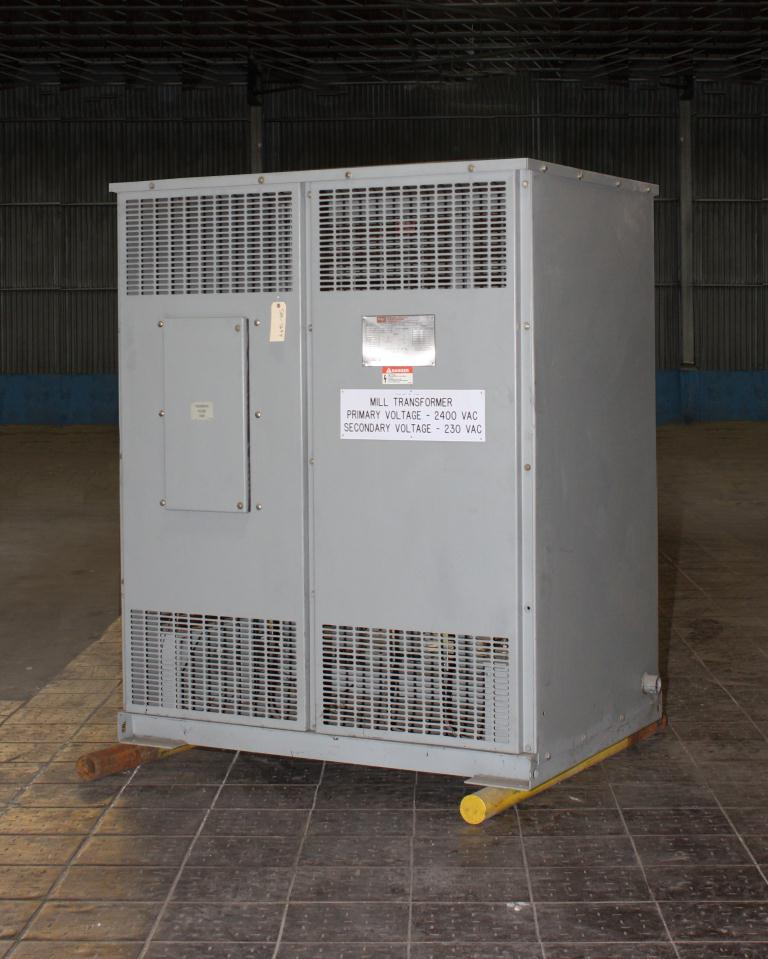 Transformers and Switchgear 550 kva Federal Pacific Transformer Company dry transformer, 2400 V high voltage, 230 Y/133 V low voltage, 3 phase1
