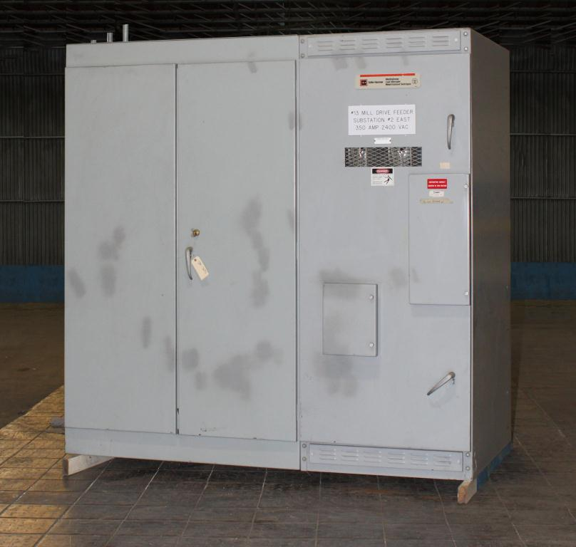 Transformers and Switchgear Culter-Hammer & Westinghouse switchgear model WLI  Load Interrupter Metal Enclosed Switchgear 2400 volts, 350 amps1