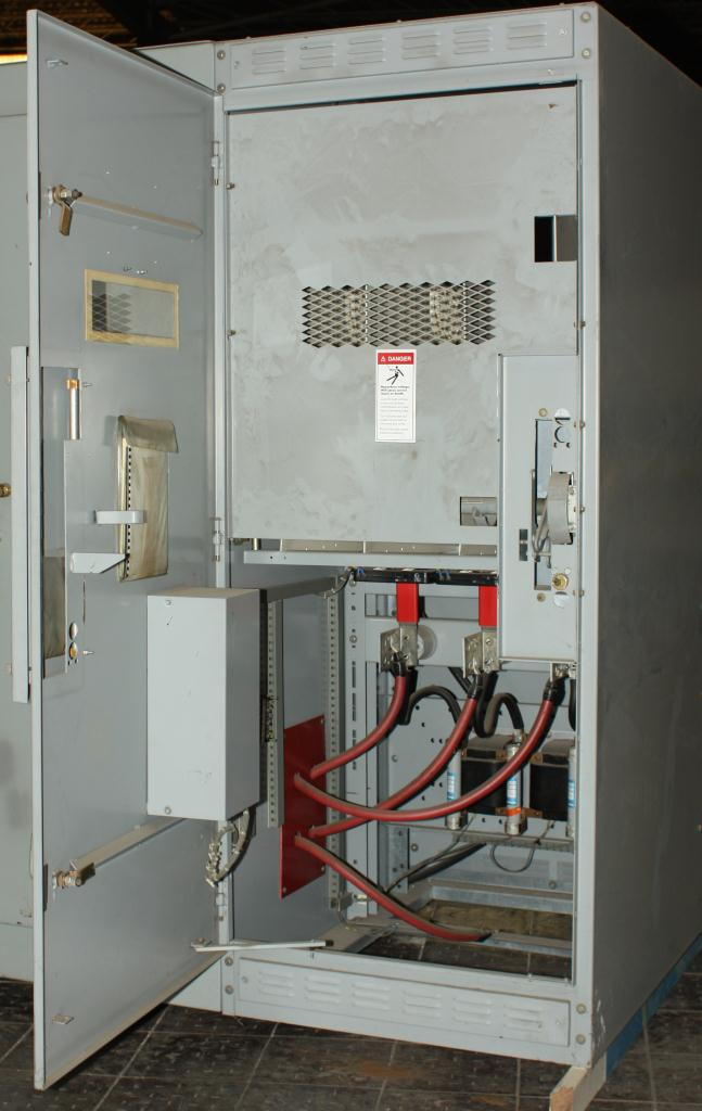 Transformers and Switchgear Culter-Hammer & Westinghouse switchgear model WLI  Load Interrupter Metal Enclosed Switchgear 2400 volts, 350 amps7