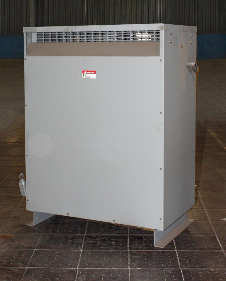 Transformers and Switchgear 93 kva Federal Pacific Transformer Company dry transformer, 2400 high voltage, 460 Y/266 low voltage, 3 phase3