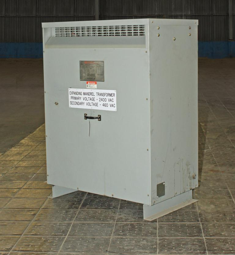 Transformers and Switchgear 145 kva Federal Pacific Transformer Company dry transformer, 2400 high voltage, 460 Y/ 266 low voltage, 3 phase1