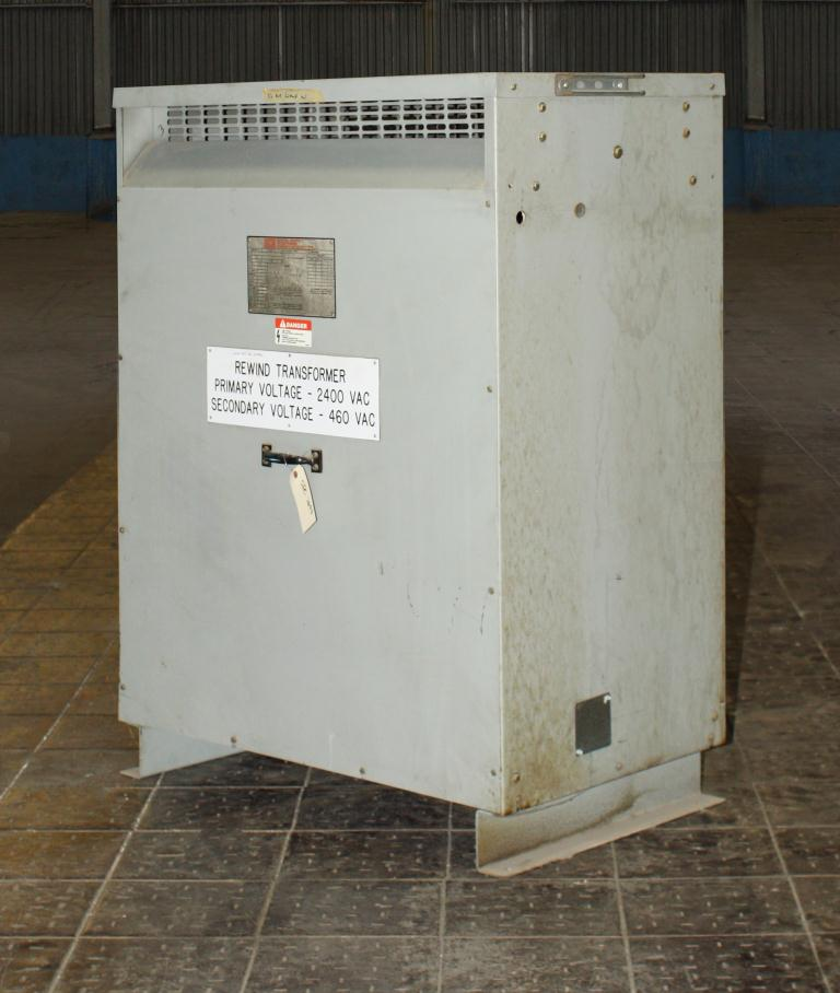 Transformers and Switchgear 175 kva Federal Pacific Transformer Company dry transformer, 2400 high voltage, 460 Y/266 low voltage, 3 phase1