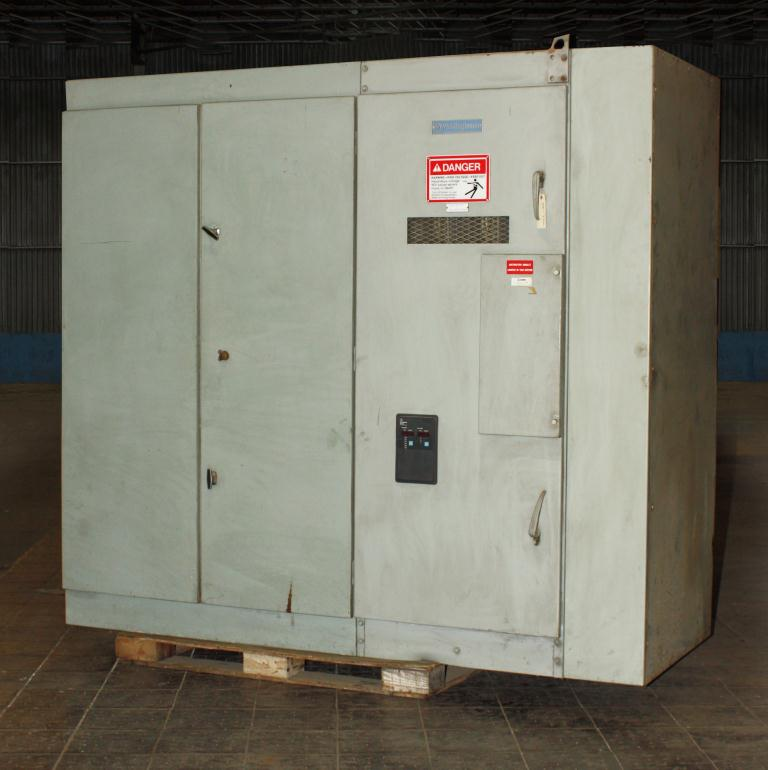 Transformers and Switchgear Westinghouse switchgear model WLI Load Interrupter Switchgear 5.0 kV volts, 600 amps1