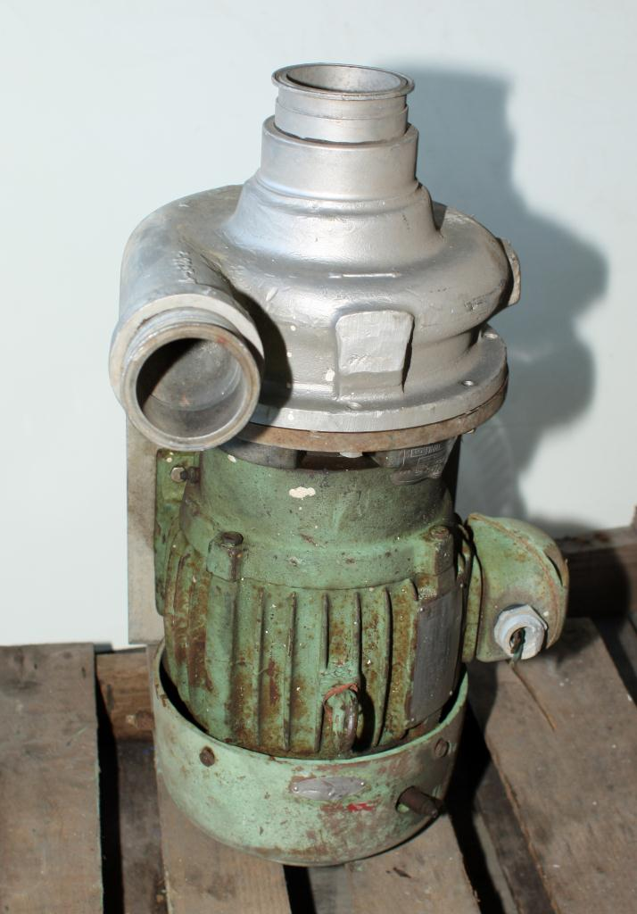 Pump  3 x 2-½ x 7 Ampco centrifugal pump, 3 hp, 316 SS2
