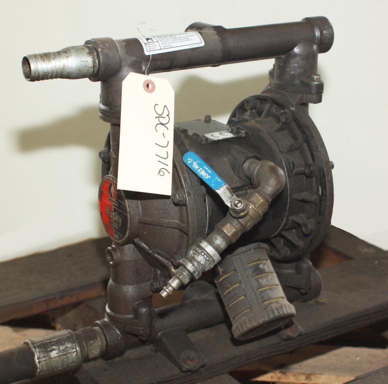 Pump 1 Graco Husky diaphragm pump, Aluminum2