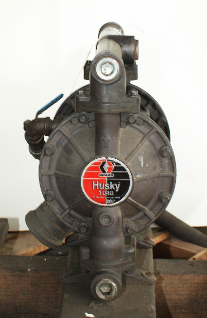 Pump 1 Graco Husky diaphragm pump, Aluminum3