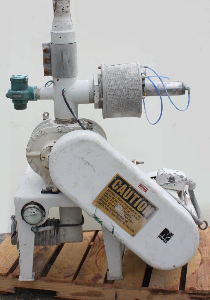 Blower 521 cfm, positive displacement blower Sutorbilt, 15 hp2