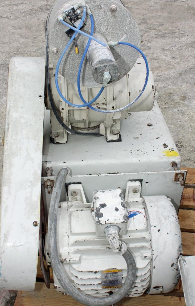 Blower 521 cfm, positive displacement blower Sutorbilt, 15 hp3
