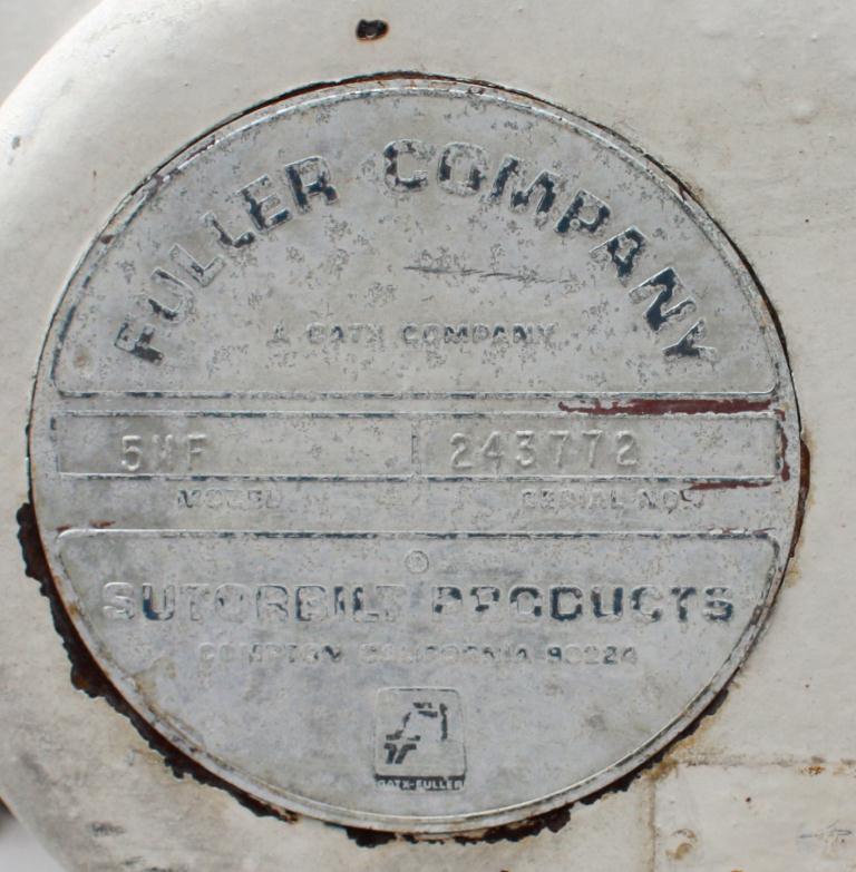 Blower 521 cfm, positive displacement blower Sutorbilt, 15 hp4