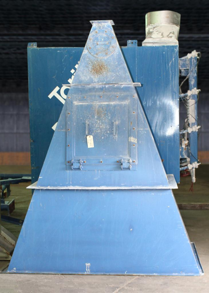 Dust Collector 8,128 sq.ft. Donaldson Torit reverse pulse jet dust collector up to 20,300 cfm6