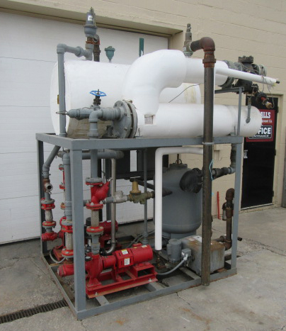 Miscellaneous Equipment foam cleaning system, CIP skid1