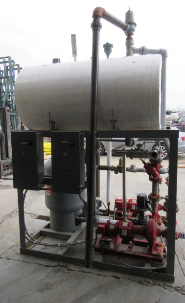 Miscellaneous Equipment foam cleaning system, CIP skid5