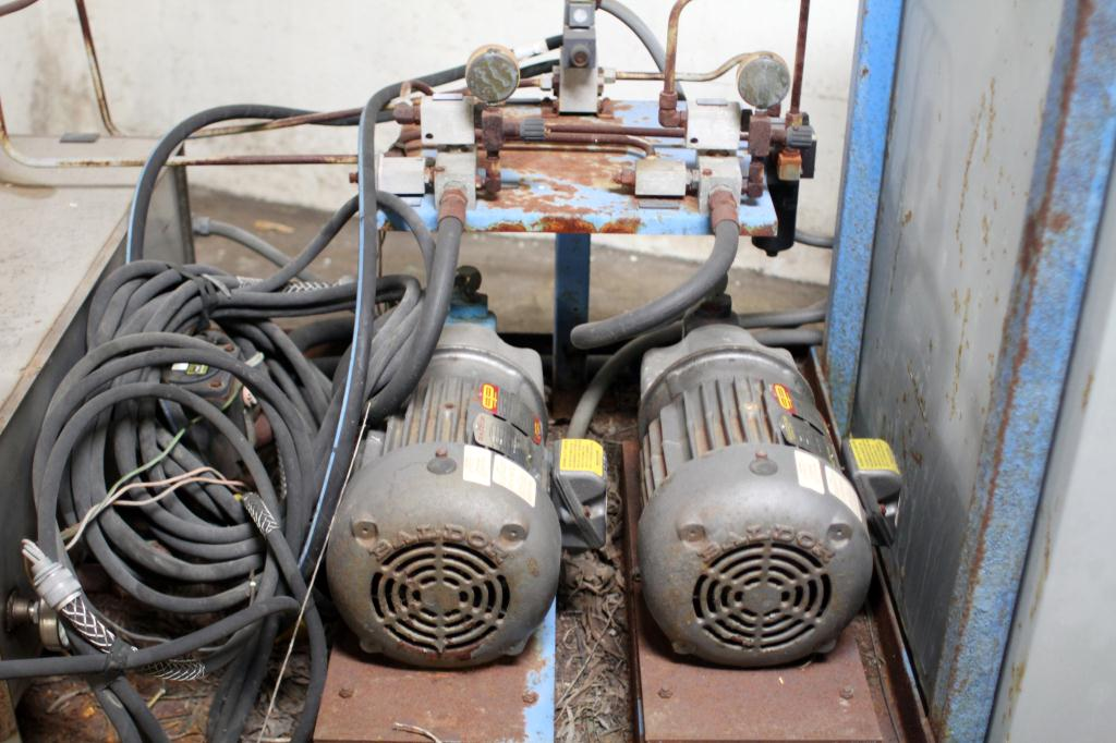 Pump 10 hp American Lifts hydraulic power unit, model Low Profil Unit, 35 gal(US) reservoir tank, 2000 psi5