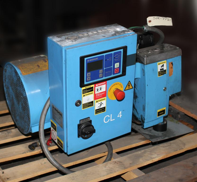 Compressor 4 hp BOGE air compressor model CL 4, 11 cfm4