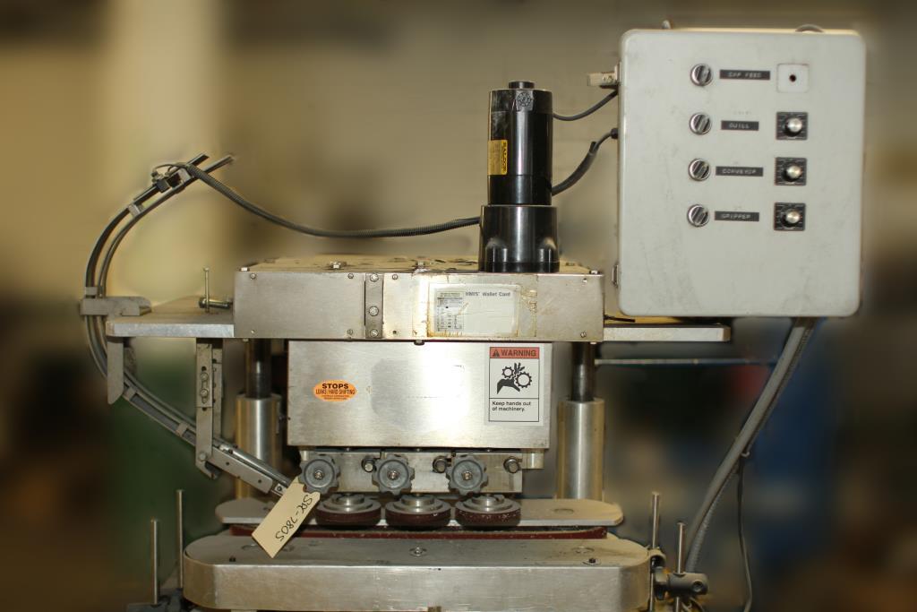 Capping Machine Ron Unger Engineering retorquer cap tightener 2