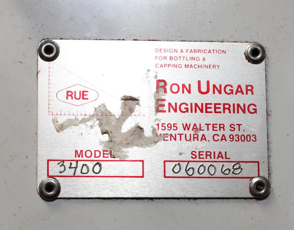 Capping Machine Ron Unger Engineering retorquer cap tightener model 34002