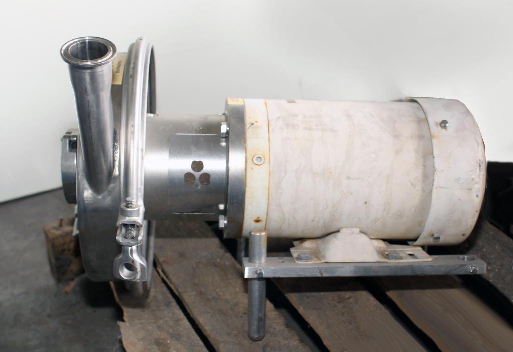 Pump 2.5x1.5x7 Alfa Laval centrifugal pump, 2 hp, Stainless Steel Contact Parts3