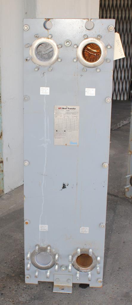 Heat Exchanger 84 sq.ft. API Schmidt plate heat exchanger, Stainless Steel Contact Parts3