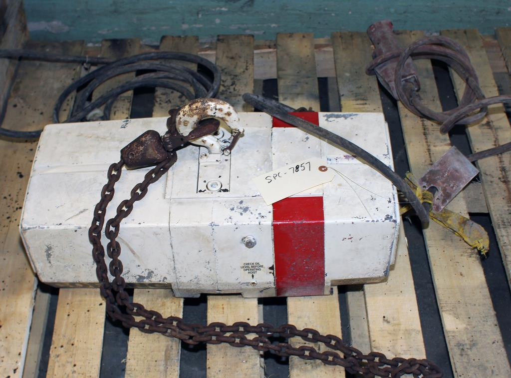 Material Handling Equipment chain hoist, 1000 lbs. Coffing Hoists 12  long chain1
