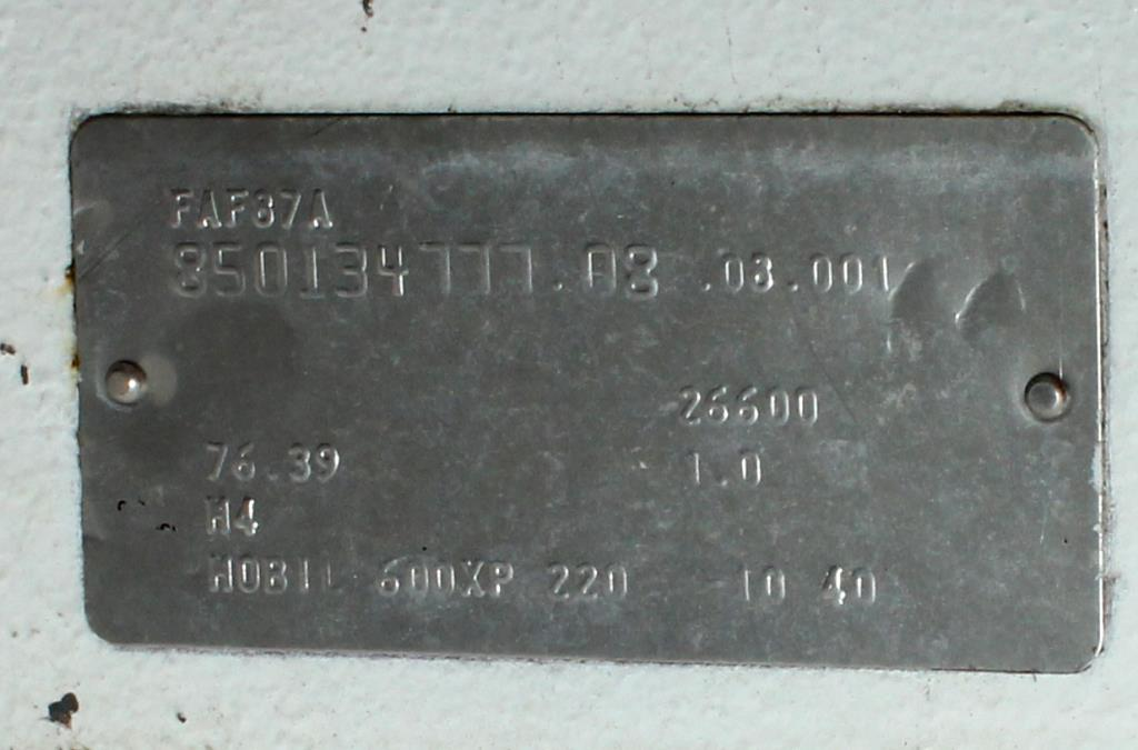 Kettle 650 gallon Sani Fab processor kettle, agitator 2 speed side scrape, 75 psi jacket rating, Stainless Steel9