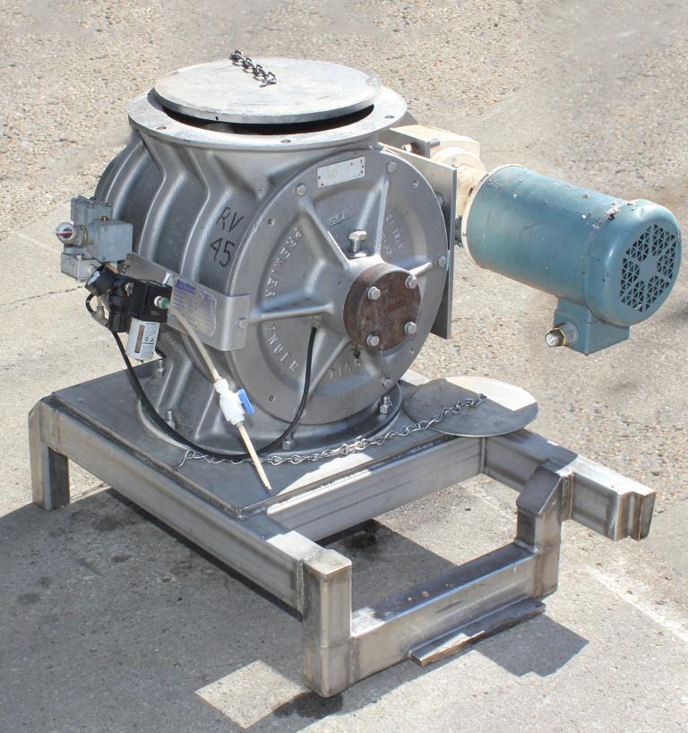 Valve 12 Stainless Steel Boedecker Company rotary airlock feeder model HDR 13122