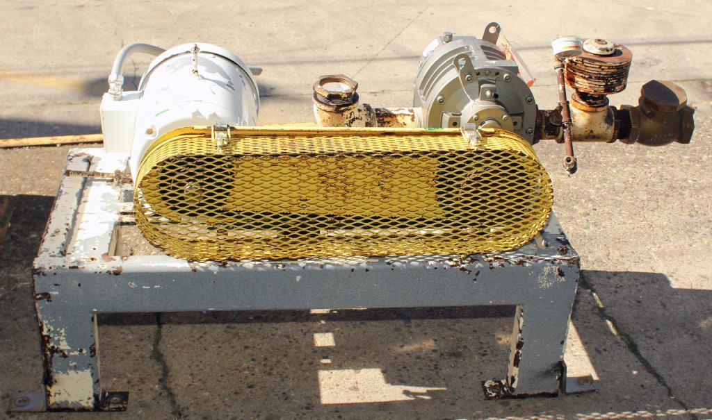 Blower 347 cfm, positive displacement blower Gardner Denver, 7.5 hp2
