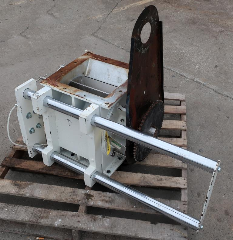 Valve 12 square  K-Tron Premier rotary airlock feeder Quick clean out.2
