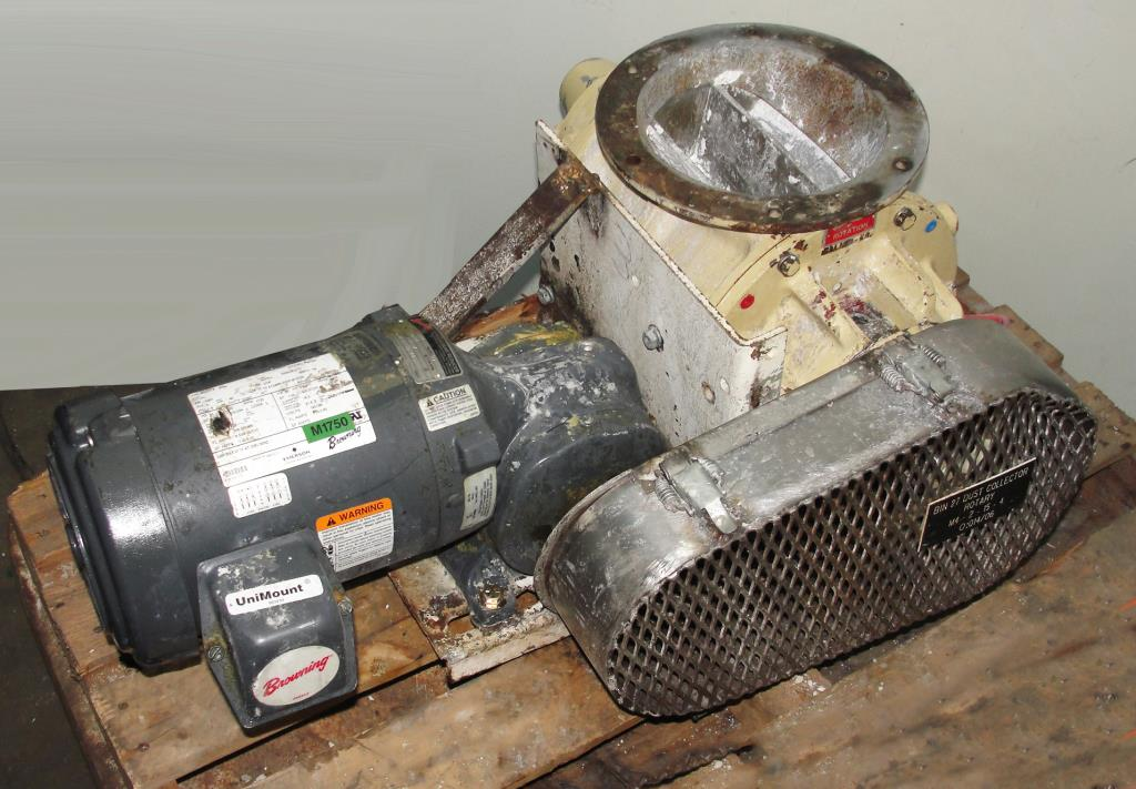 Valve 8 CS Premier Pneumatic rotary airlock feeder1