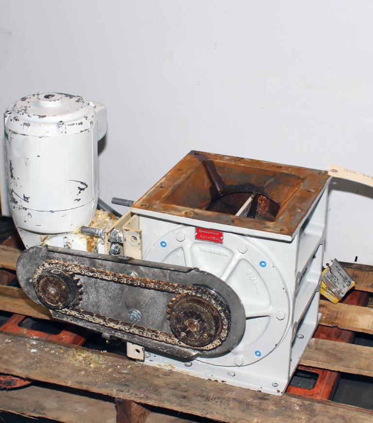 Valve 8 CS K-Tron Premier Pneumatic rotary airlock feeder1