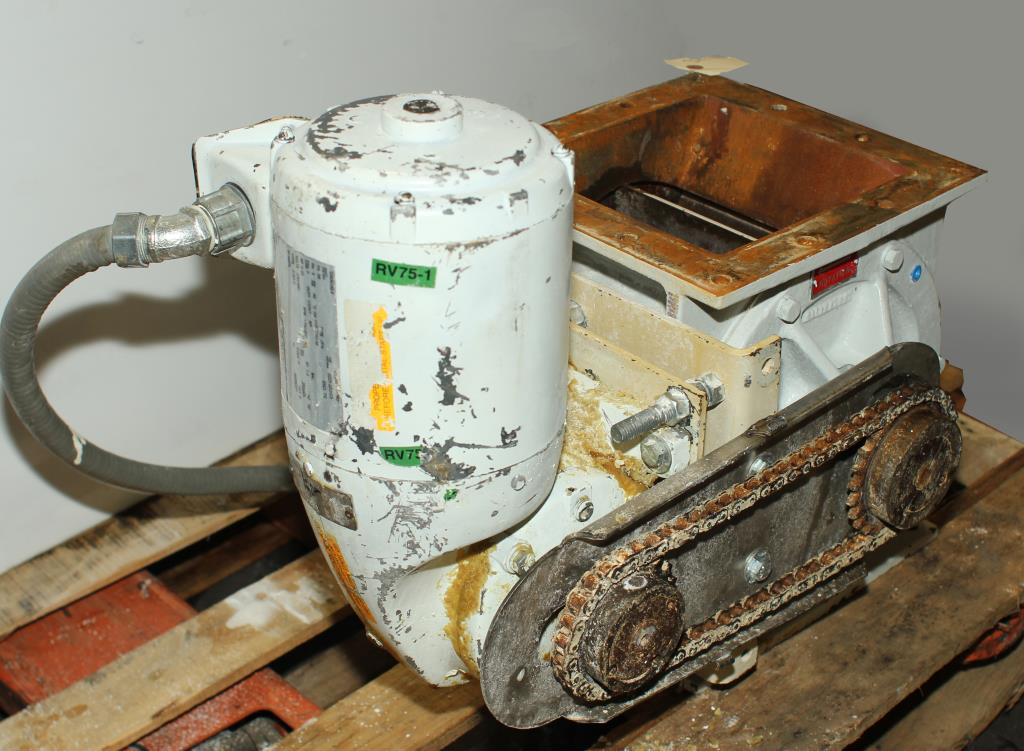 Valve 8 CS K-Tron Premier Pneumatic rotary airlock feeder2