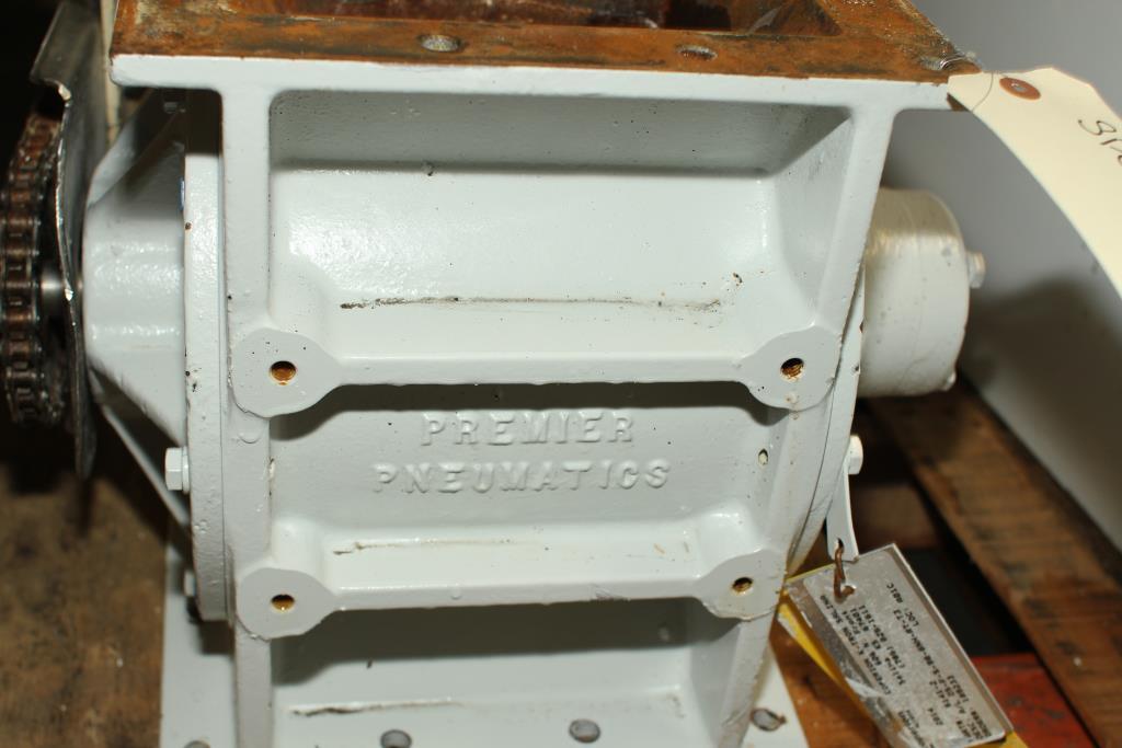 Valve 8 CS K-Tron Premier Pneumatic rotary airlock feeder4