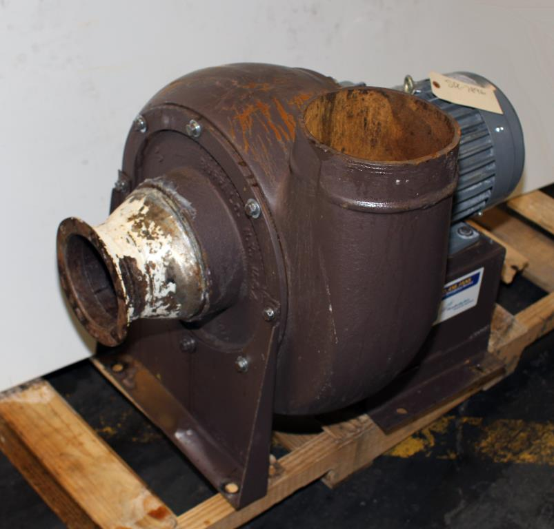 Blower centrifugal fan Howden Buffalo model 33 Volume CW-360D, 5 hp, Cast Iron2