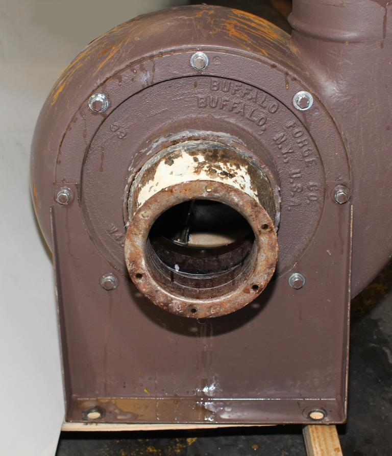 Blower centrifugal fan Howden Buffalo model 33 Volume CW-360D, 5 hp, Cast Iron3