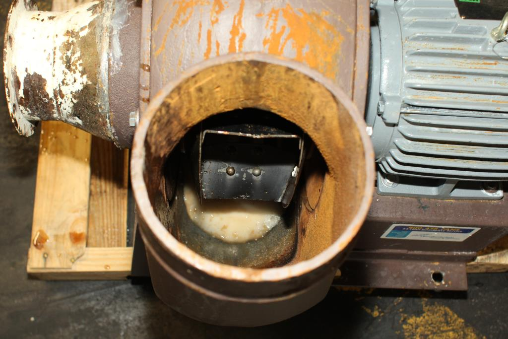 Blower centrifugal fan Howden Buffalo model 33 Volume CW-360D, 5 hp, Cast Iron6