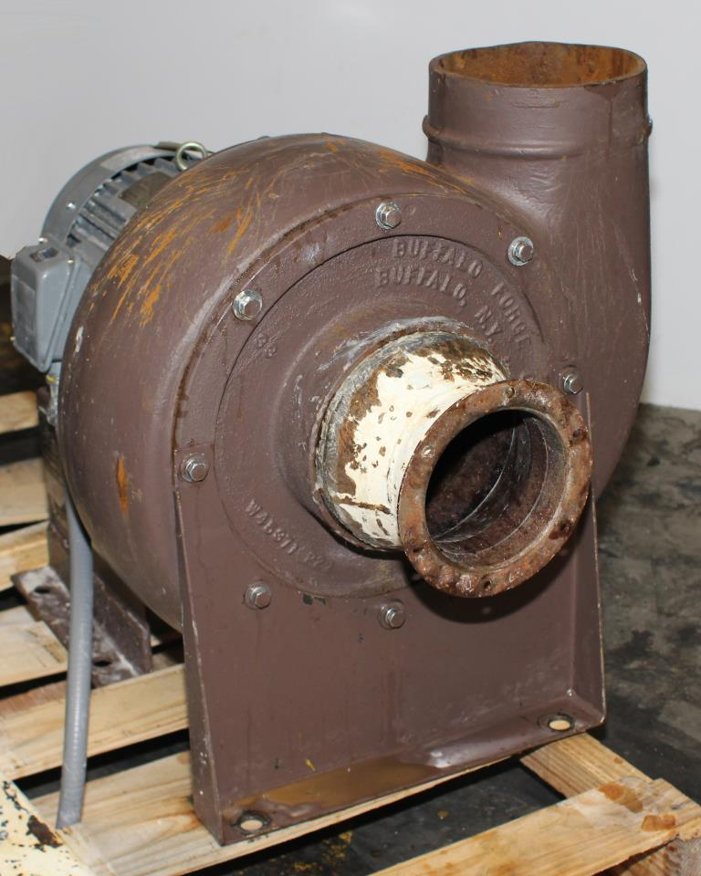 Blower centrifugal fan Howden Buffalo model 33 Volume CW-360D, 5 hp, Cast Iron7