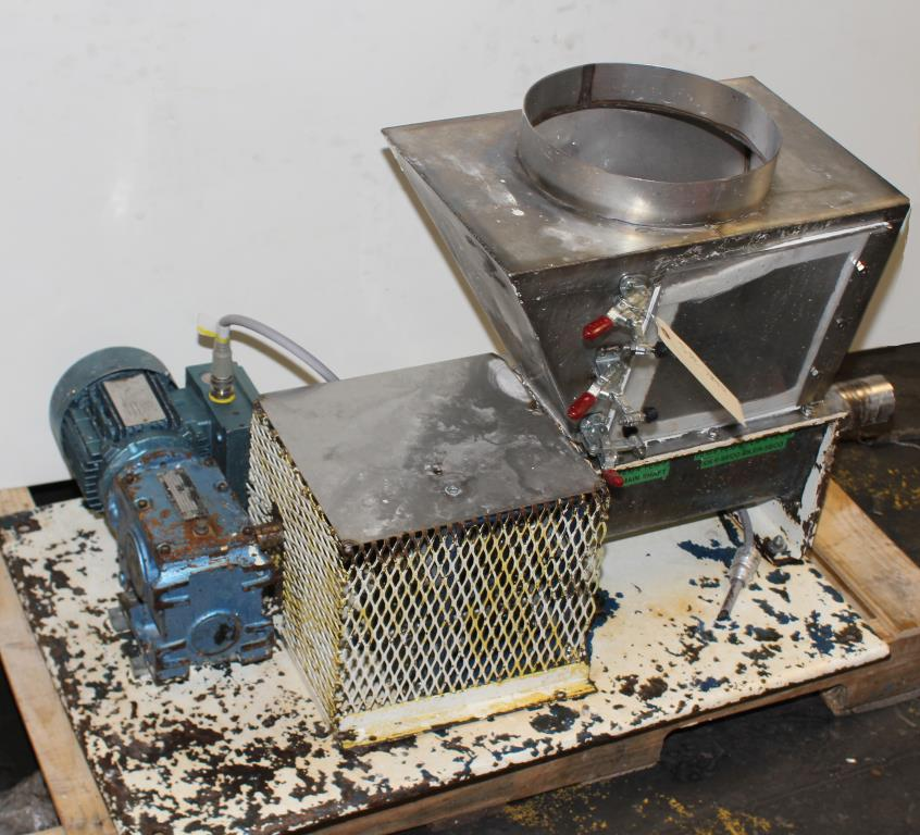 Feeder 2 screw feeder , Stainless Steel2