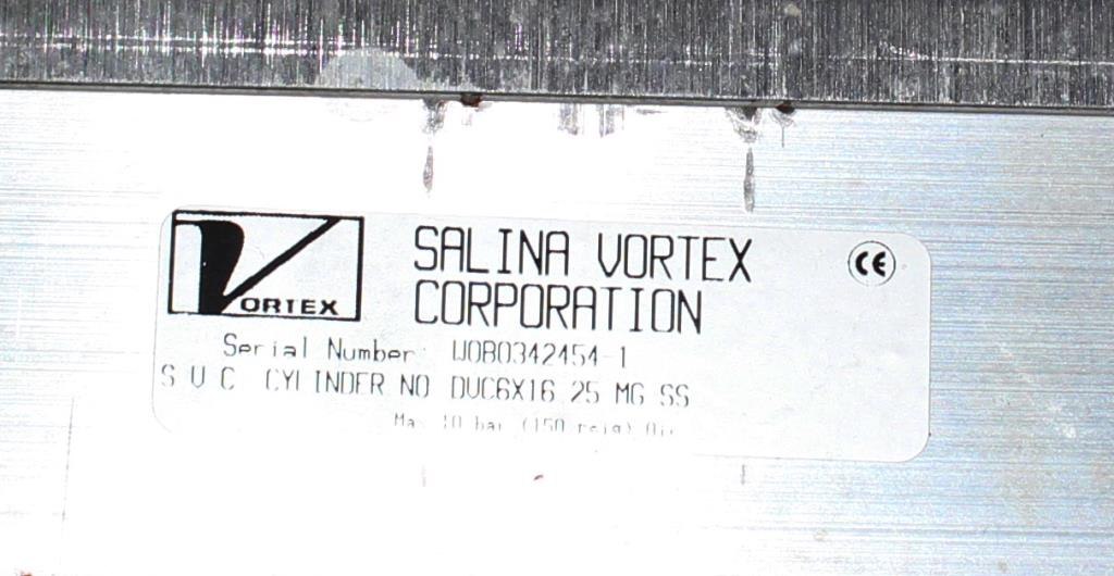 Valve 16 Salina Vortex gate valve, pneumatic, Stainless Steel Contact Parts4