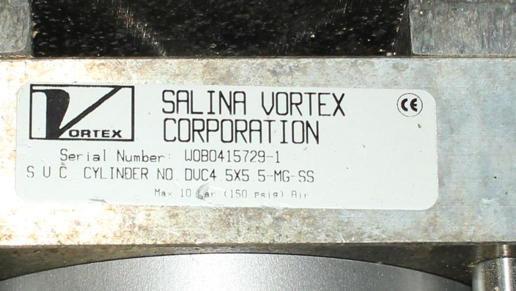 Valve 5 Salina Vortex gate valve, pneumatic, Stainless Steel Contact Parts4