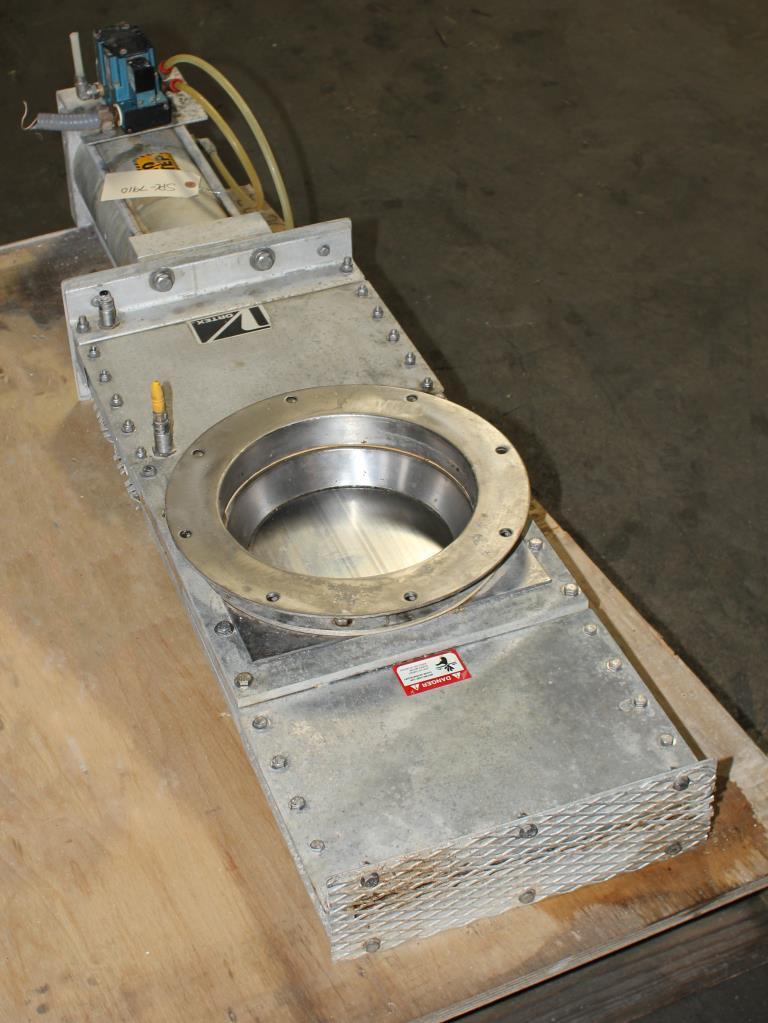 Valve 10 Salina Vortex gate valve, pneumatic, Stainless Steel Contact Parts5