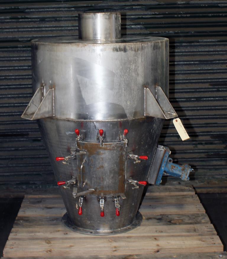 Bin Hopper Silo 16 cu.ft., bulk storage bin, Stainless Steel1