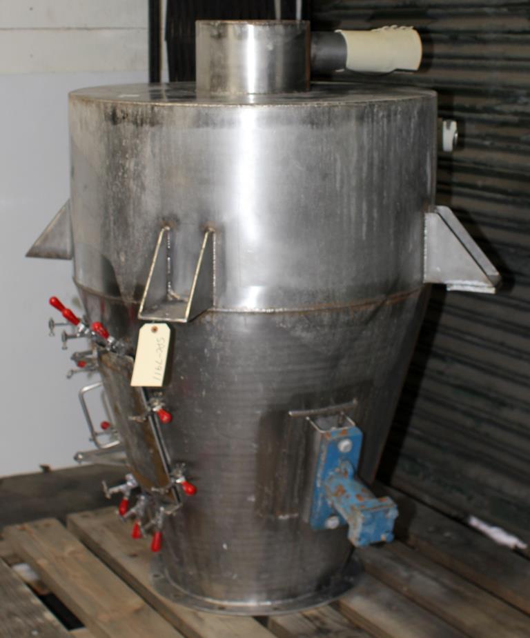 Bin Hopper Silo 16 cu.ft., bulk storage bin, Stainless Steel2